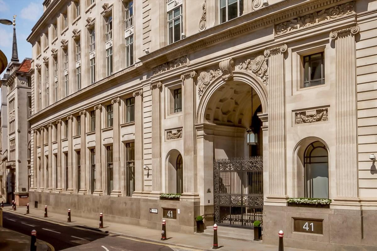 41 Lothbury Office Space