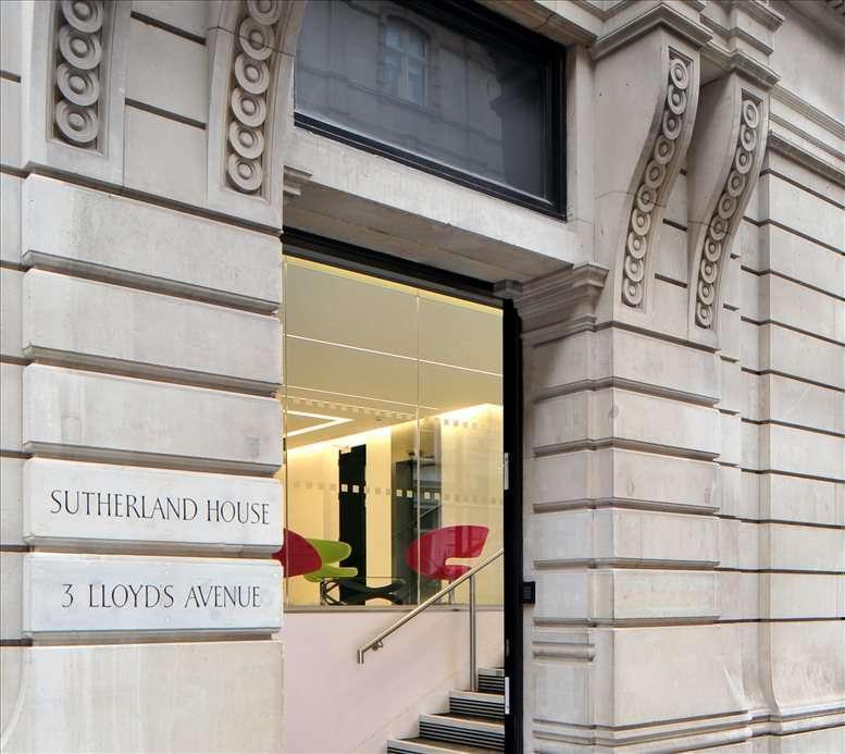 3 Lloyd's Avenue Office Space