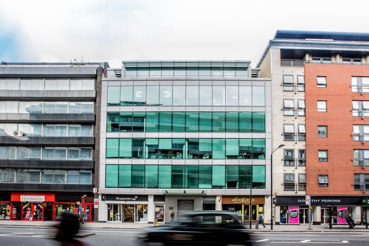 16 High Holborn Office Space