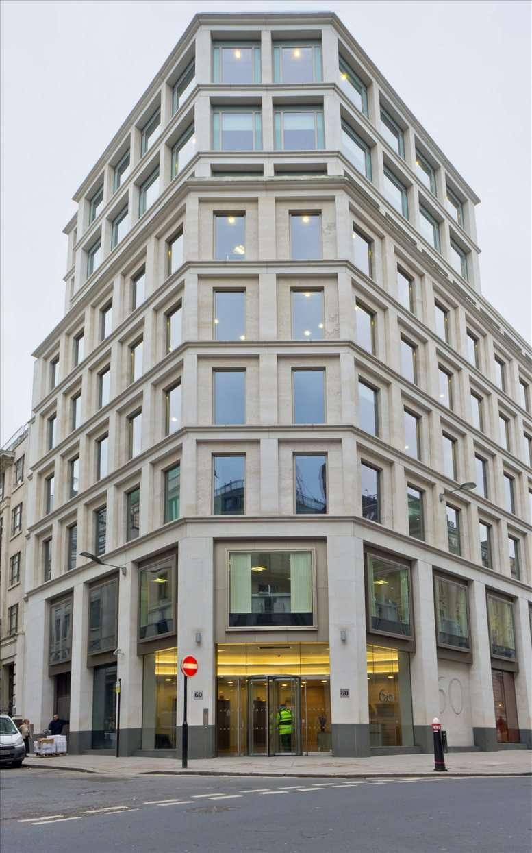 60 Gresham Street Office Space
