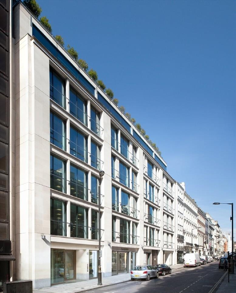 48 Dover Street Office Space