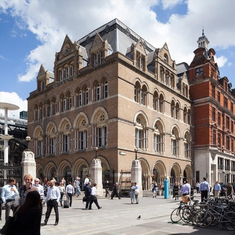 50 Liverpool Street Office Space