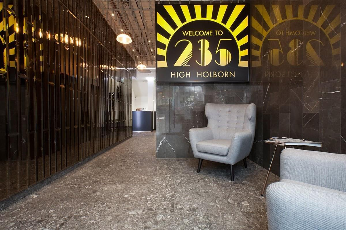 235 High Holborn Office Space