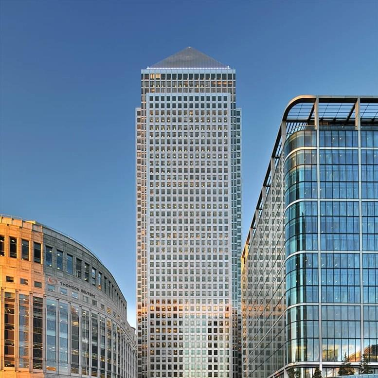 One Canada Square Office Space