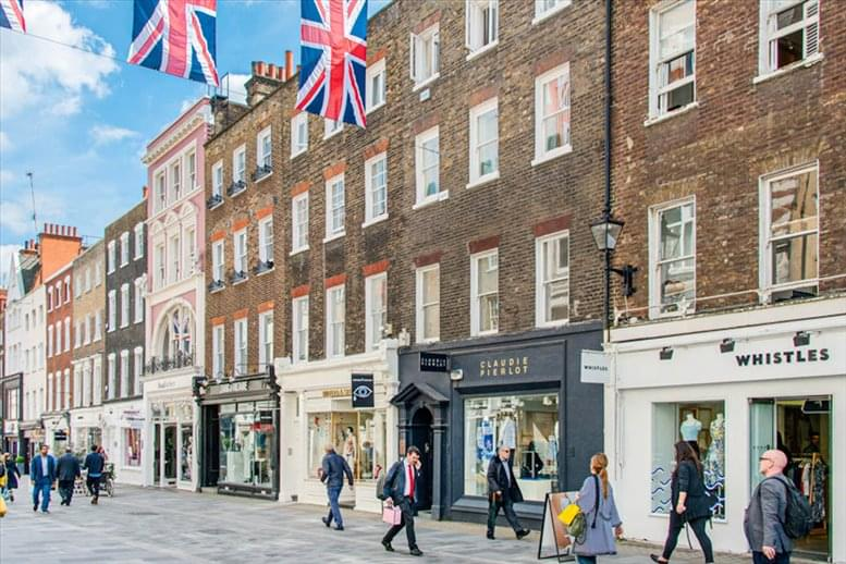 54 South Molton Street Office Space