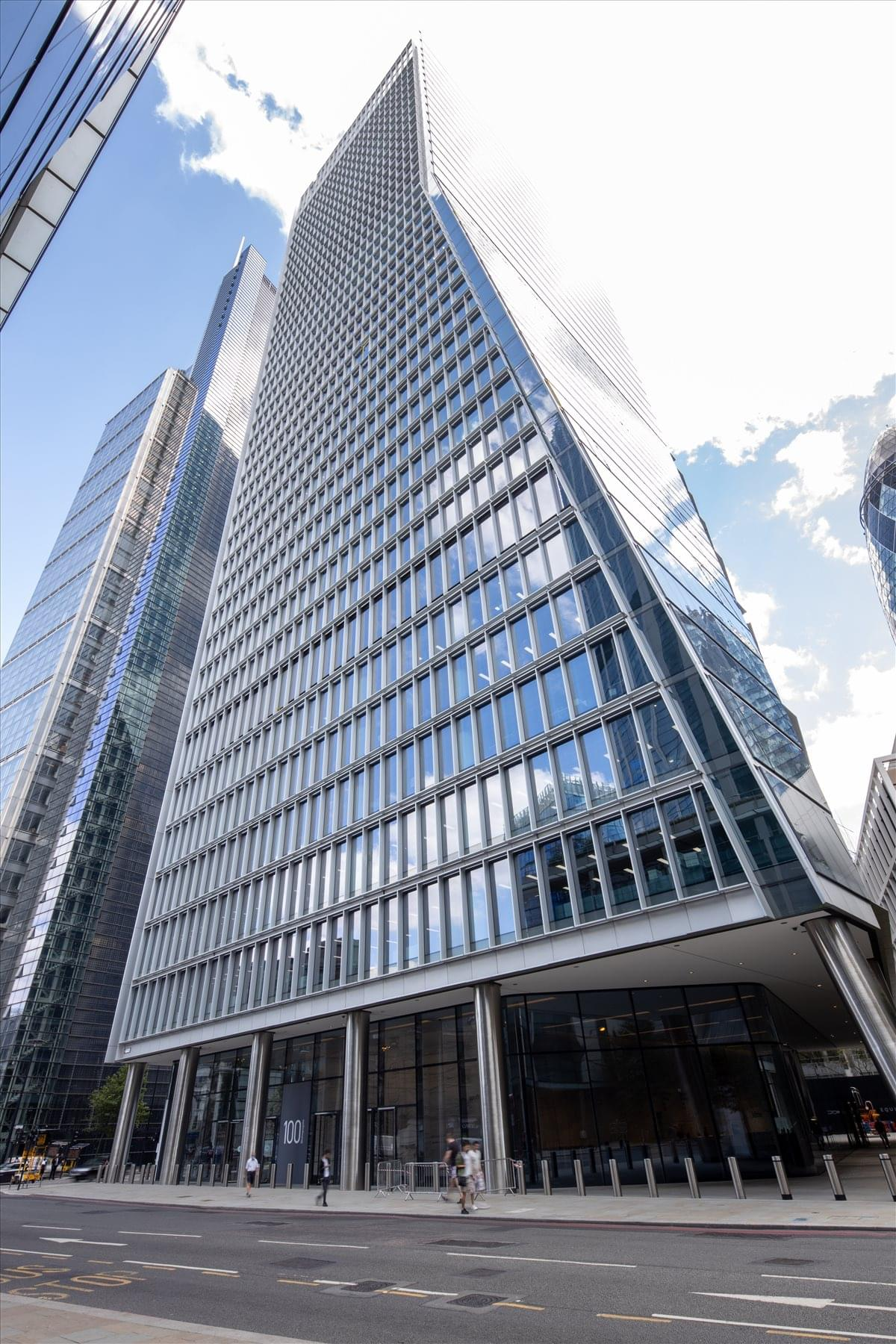 100 Bishopsgate Office Space