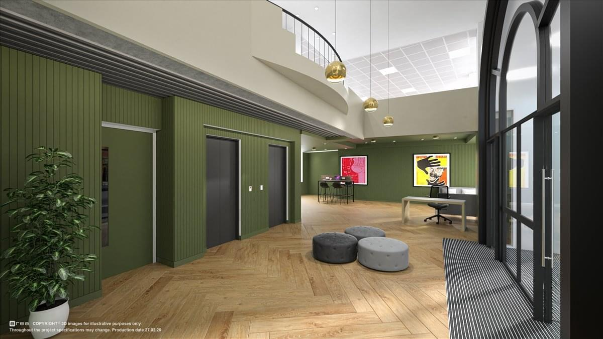 1 Fetter Lane Office Space