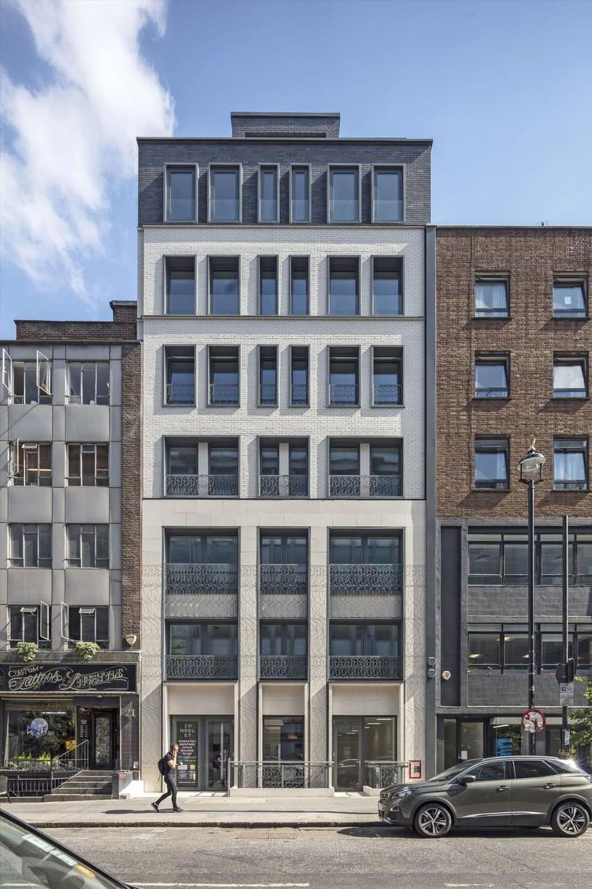 20 Noel Street Office Space