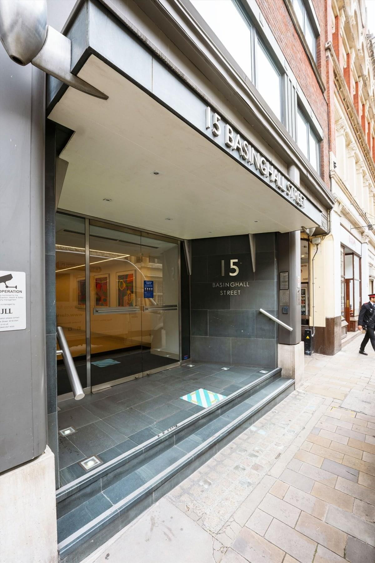 15 Basinghall Street Office Space