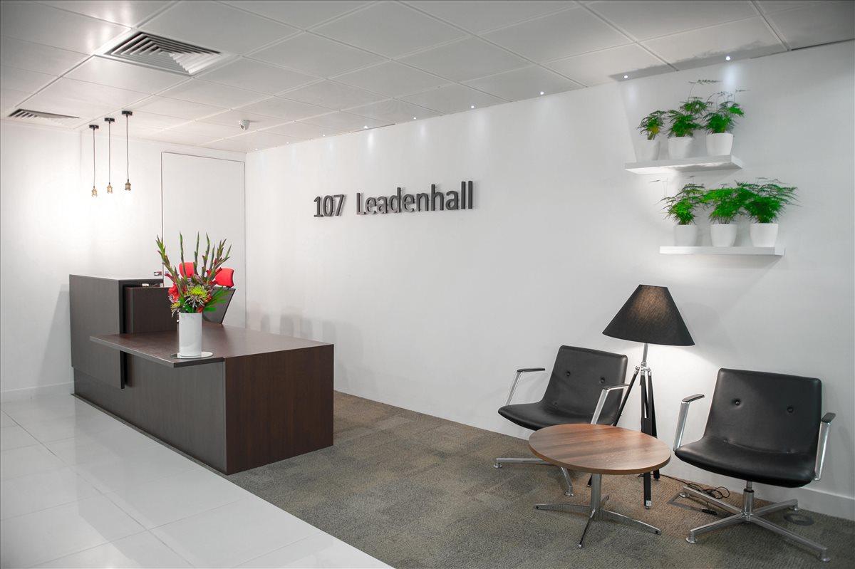 107 Leadenhall Street Office Space